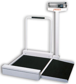 Detecto® 495/4951 Mechanical Stationary Wheelchair Scales