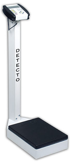 Detecto® 6127/6129 Series Waist-High Digital Health Care Scales