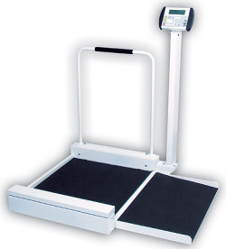 Detecto® 6495 Digital Stationary Wheelchair Scale