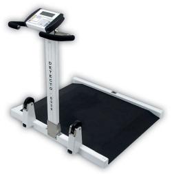 Detecto®6550 Folding Portable Wheelchair Scale