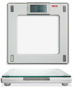 Seca® Aura 807 Series Digital Flat Scales with Glass Platform