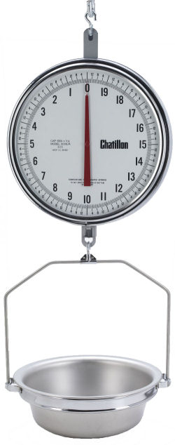 Chatillon®8200 Series 13 inch Dial Handing Scales, NTEP Legal for Trade