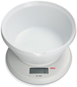 Seca® Culina 852 Series Digital Diet and Kitchen Scales with Universal Bowl