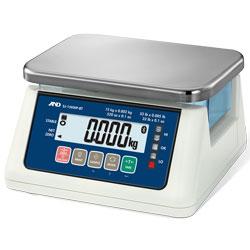 A&D®SJ-WP-BT Series Compact Washdown Bluetooth Bench Scales