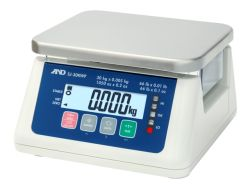 A&D® SJ-WP Series Compact Washdown Bench Scale