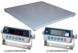 CAS® HFS Series Floor Scale + CI-2001A Indicators