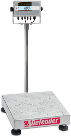 Ohaus®Defender™ 5000XW Series Extreme Square Washdown Scales