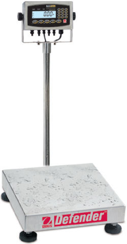 Ohaus®Defender™ 7000XW Series Extreme Square Washdown Scales