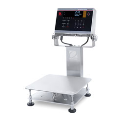 Ohaus®Defender 6000 Extreme Washdown Bench Scales, IP68/IP69 Rated, Stainless Steel Indicator (i-D61XW)