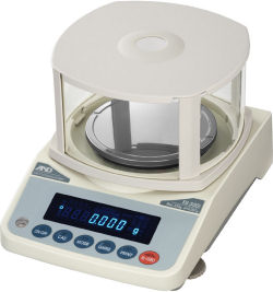 A&D® FX-iWP Series Water Proof / Dust Proof Precision Balances