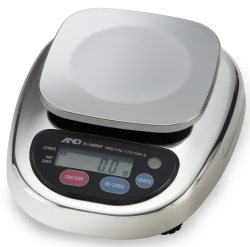 A&D® HL-WP Series Washdown Compact Scales