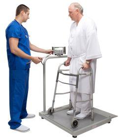 Health O Meter®Digital Standard Platform Wheelchair Scale