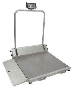 Health O Meter®Digital Wheelchair Handrail Scales