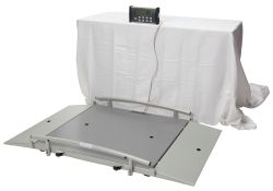 Health O Meter®Digital Wheelchair Scales