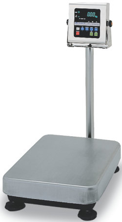 A&D® HV-WP Series Stainless Steel (Triple Range) Platform Scales