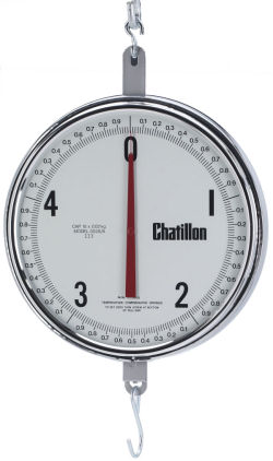 Chatillon® 8200 Series 13 inch Dial Handing Scales, NTEP Legal for Trade