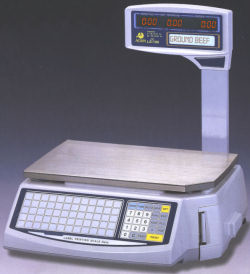 Acom® LS-100 Series Price Computing and Printing Scales