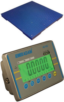 Adam Equipment® PT Series Floor Scales