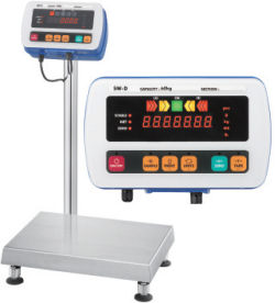 A&D® SW Series High Pressure Washdown Scales