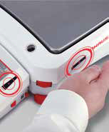 Ohaus touchless sensor hand wave