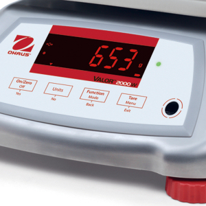 Ohaus Valor 2000 tough stainless stell model with checkweighing mode