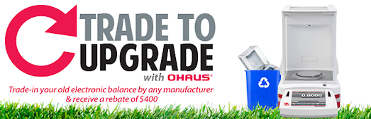 Ohaus Explorer Auto Door Trade in Special