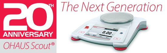 New Ohaus Scout Portable Balances