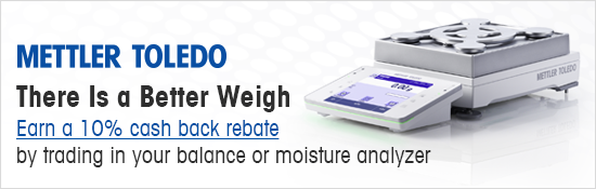 Mettler Toledo 10% Cash Back Trade in Promo!