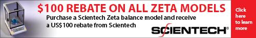 Cash Back Scientech Zeta Promotion