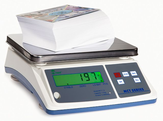Unit Switching KG or LB Tree LCT 110 Counting Scale Large LCD with Auto Backlight 110 lbs x 0.005 lbs Selectable