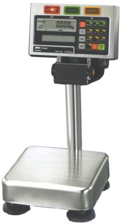 A&D® FS-i Series Checkweighing Scales