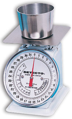 Detecto® PT Series Mechanical Dial Type Portion Scales