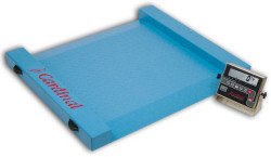 Detecto® Run-a-Weigh Series Portable Floor Scales