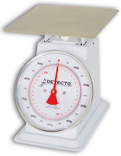 Detecto® TKP Series Dual Reading Dial Scales