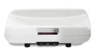 Seca727 Series - Electronic baby scale with integrated printer interface