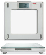 SecaAura 807 Series Digital Flat Scales with Glass Platform