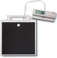 Seca869 Flat Scale with cabled remote display