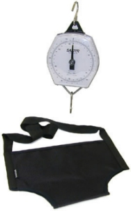 Brecknell235-6SPBW Mechanical Infant Scale