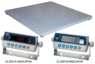CAS HFS Series Floor Scale + CI-2001A Indicators
