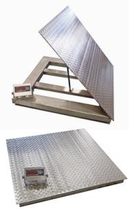 VeritasDWP-SW Series Stainless Steel Floor Scales