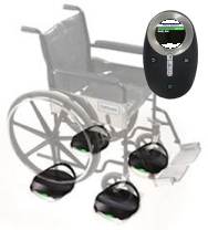 Innovision WS Wireless Wheelchair Scale