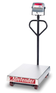 OhausDefender™ 3000 Wheeled Bench Scales